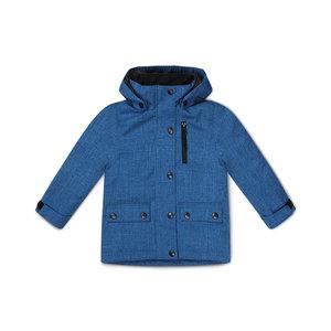 Jongens jas blauw