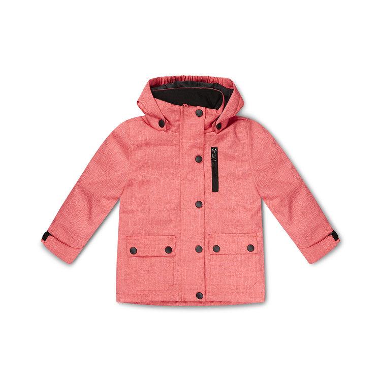 Meisjes jas roze | D36994-37