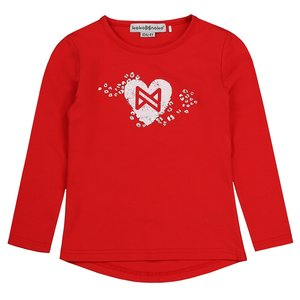 Girls shirt red with heart