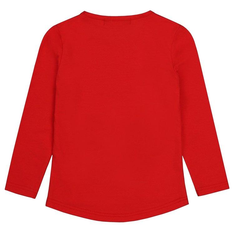Girls shirt red with heart   D36984-37
