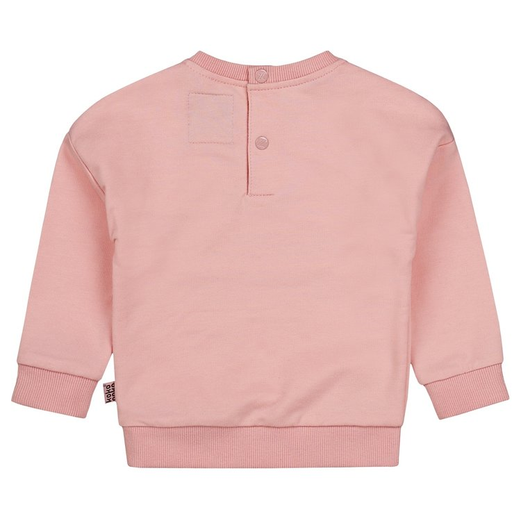 Girls sweater pink with silver | D36985-37