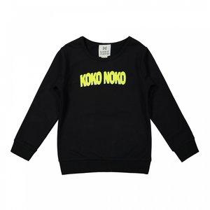 Koko Noko boys sweater black
