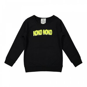 Koko Noko jongens trui zwart