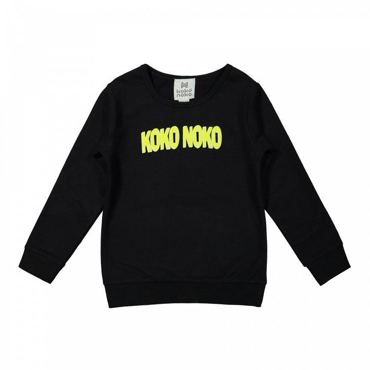 Koko Noko Jungenpullover schwarz | X00034-37