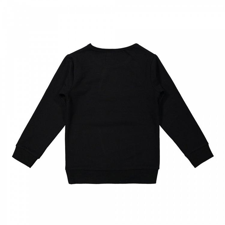 Koko Noko jongens trui zwart | X00034-37