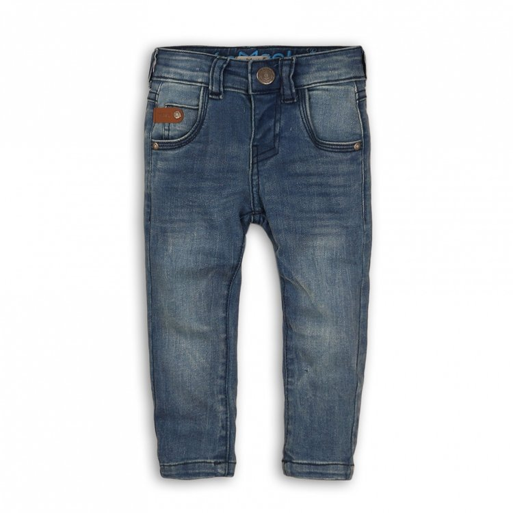 Koko Noko boys jeans blue with brown label | E32806-37WHS