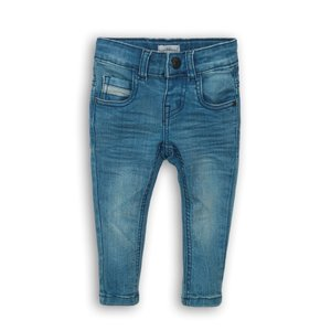 Koko Noko meisjes jeans blauw met zwart label