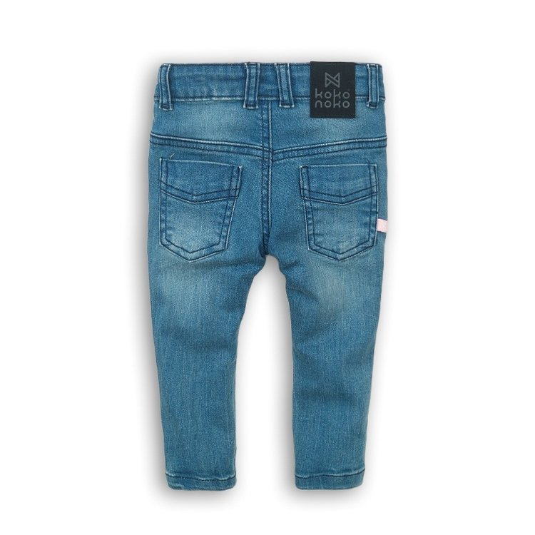 Koko Noko girls jeans blue with black label | E36920-37WHS