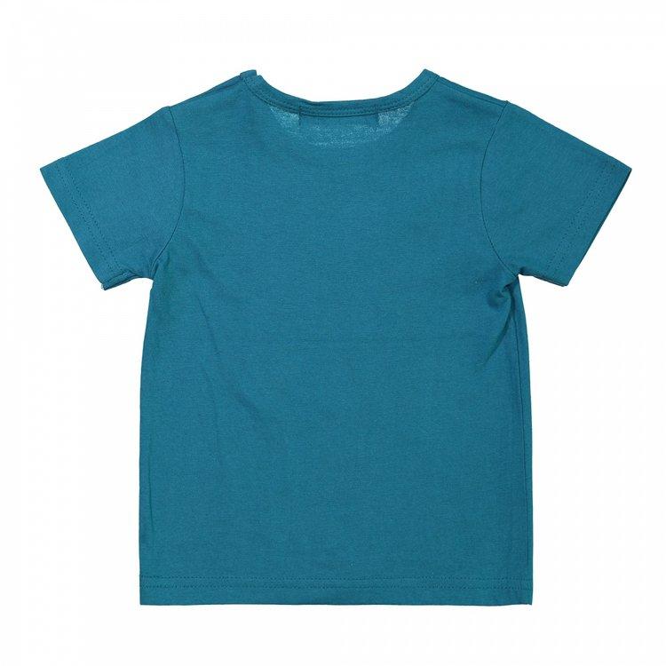 Koko Noko Jungen T-shirt Meer grün | X00021-37