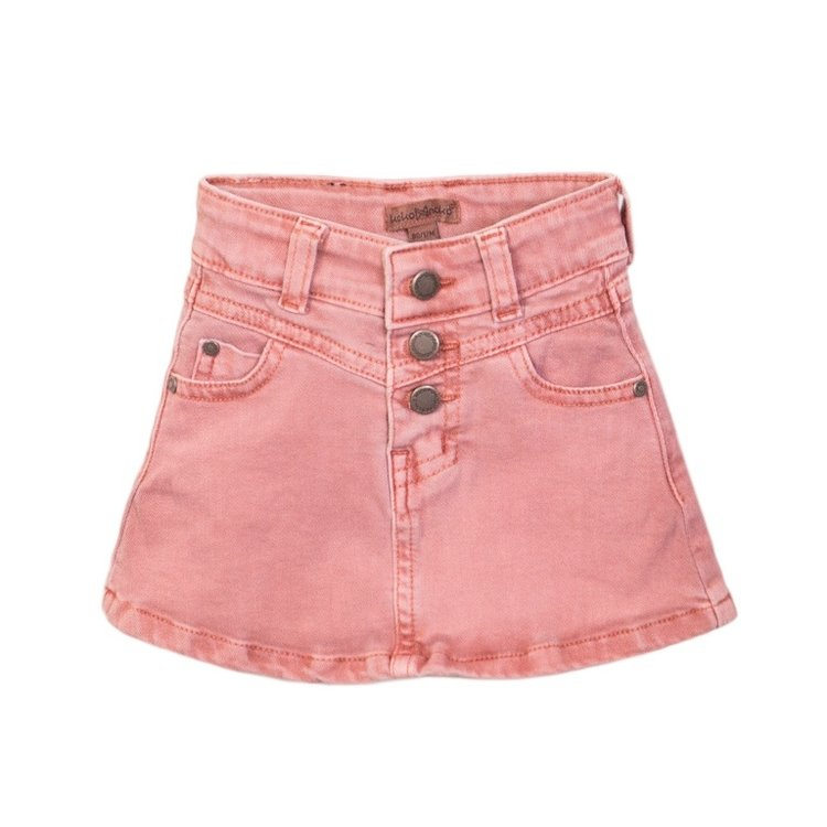 Koko Noko girls skirt jeans pink | E38901-37