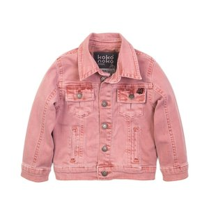 Koko Noko girls jeans jacket pink
