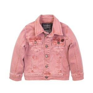 Koko Noko meisjes jeans jack roze