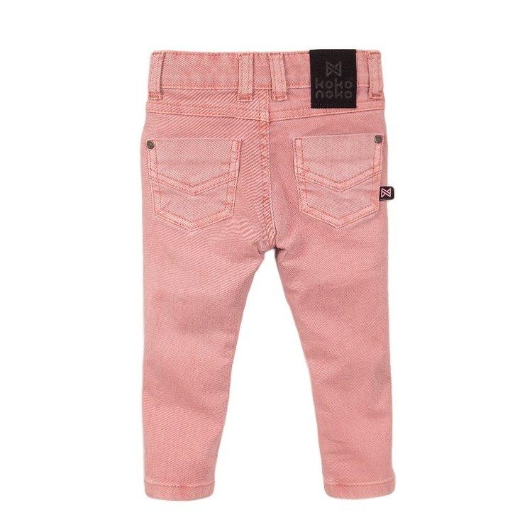 Koko Noko meisjes jeans roze | E38905-37