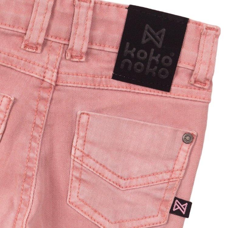Koko Noko Mädchen Jeans rosa | E38905-37