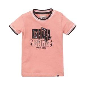 Koko Noko Mädchen-T-Shirt rosa