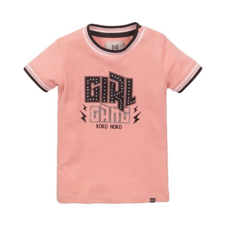 Koko Noko girls T-shirt pink | E38912-37