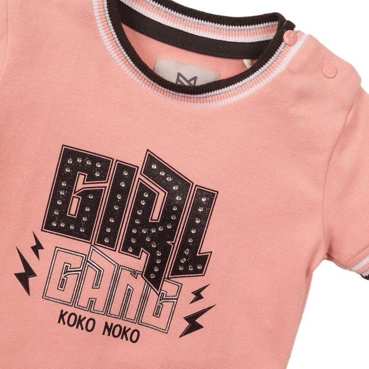 Koko Noko Mädchen-T-Shirt rosa | E38912-37