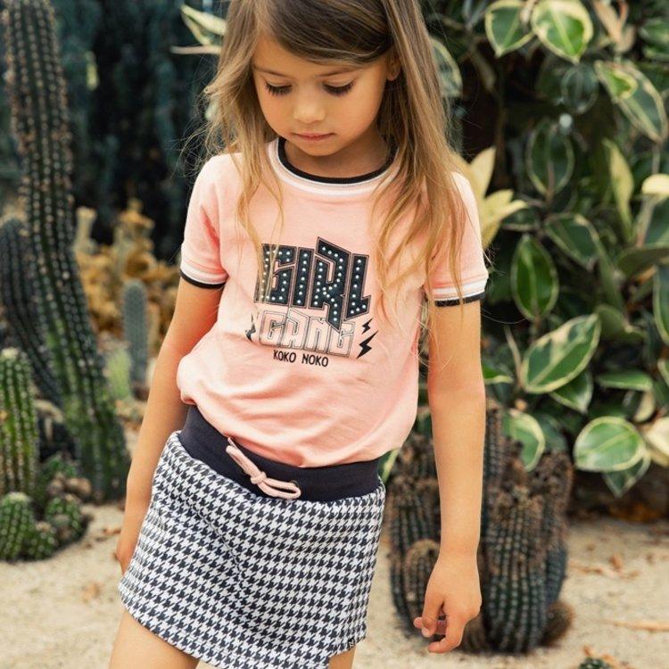 Koko Noko meisjes T-shirt roze   E38912-37