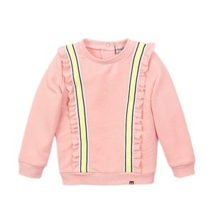 Koko Noko Mädchen Pullover rosa Rüschen