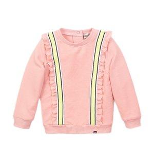 Koko Noko meisjes sweater roze ruches