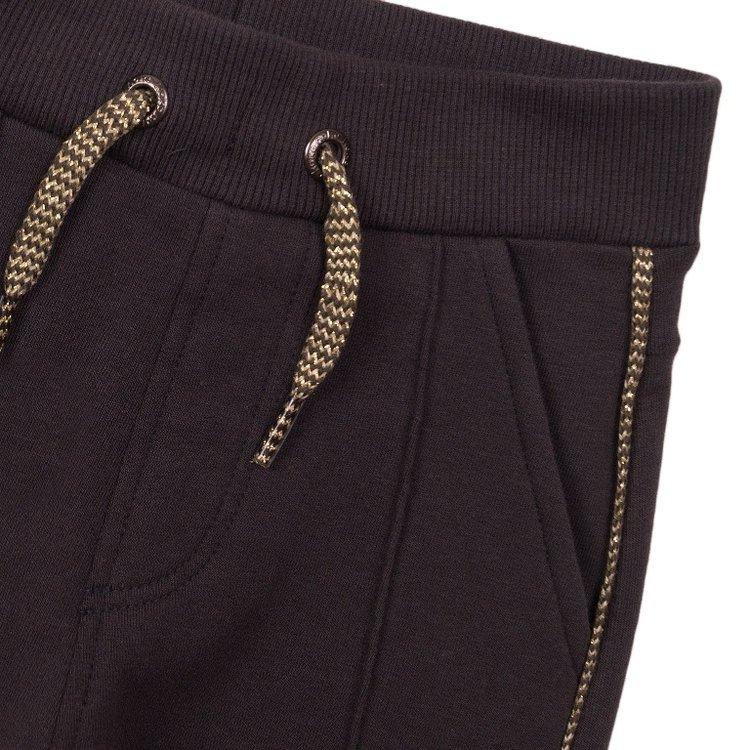 Koko Noko girls sweatpants dark grey | E38917-37