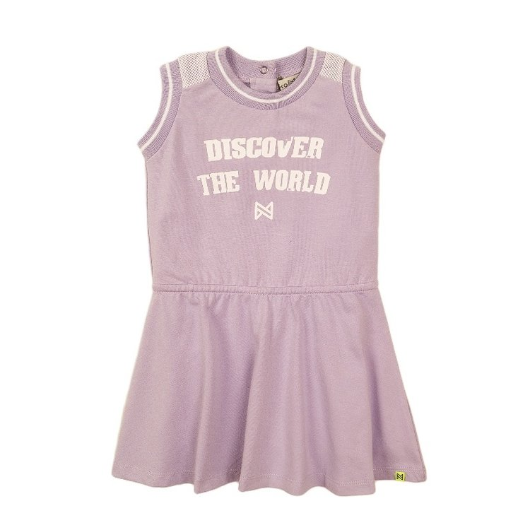 Koko Noko meisjes jurk lila | E38925-37