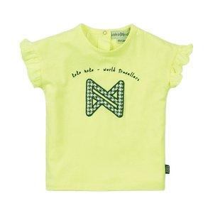 Koko Noko meisjes T-shirt neon geel