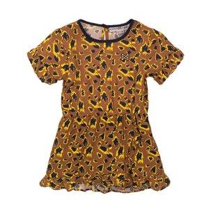 Koko Noko meisjes jurk camel