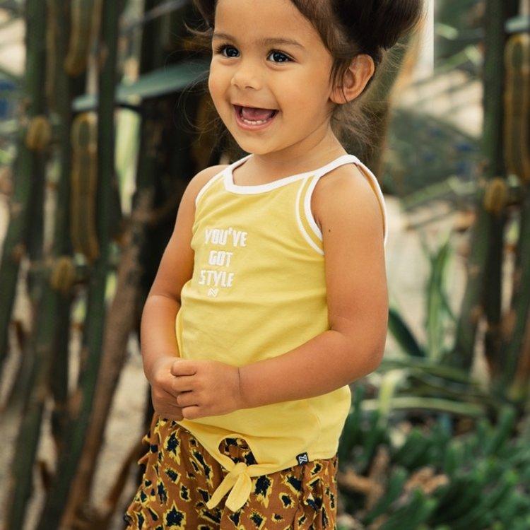 Koko Noko meisjes top geel   E38935-37
