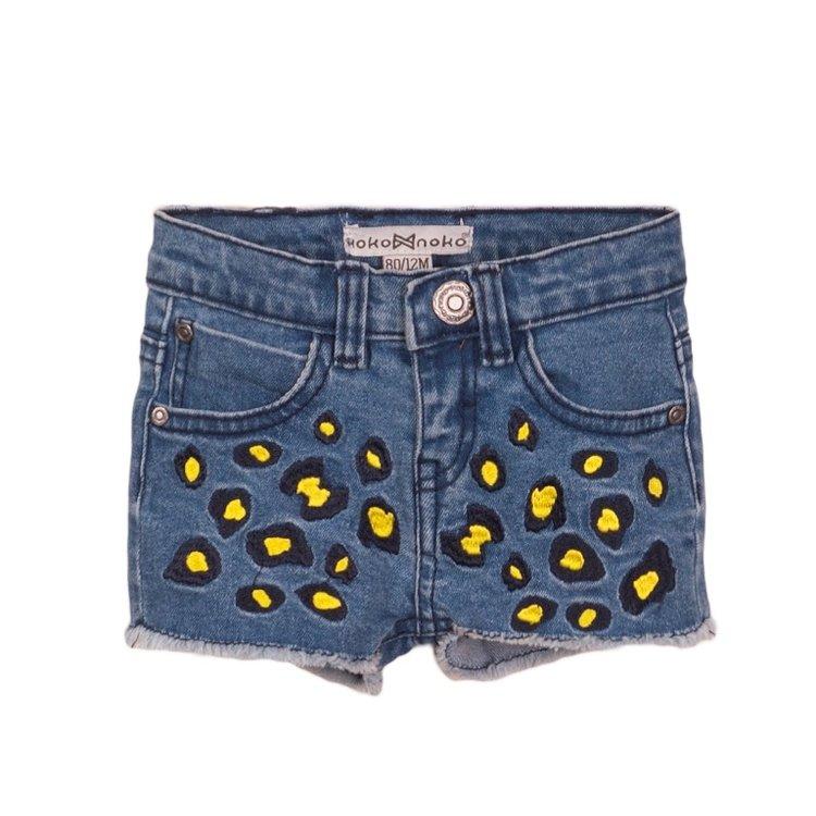 Koko Noko girls shorts denim   E38936-37