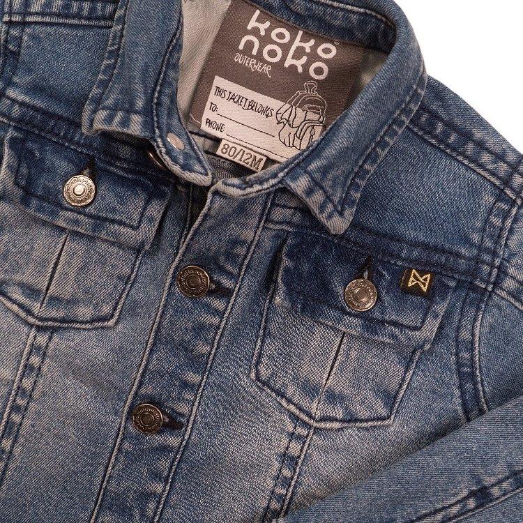 Koko Noko meisjes jeans jack | E38939-37