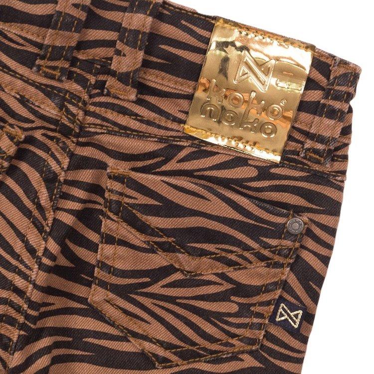 Koko Noko meisjes jeans camel navy | E38948-37