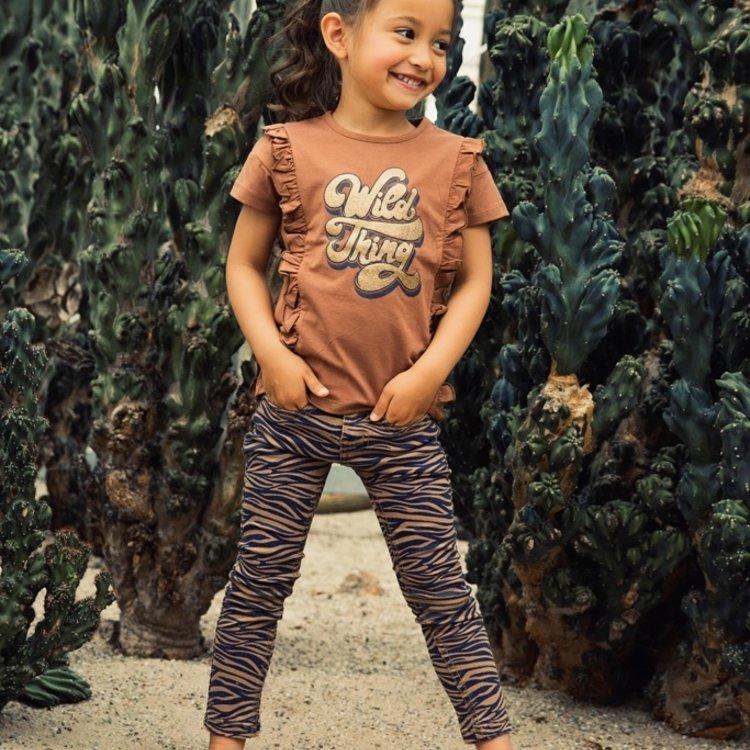 Koko Noko girls jeans camel navy | E38948-37