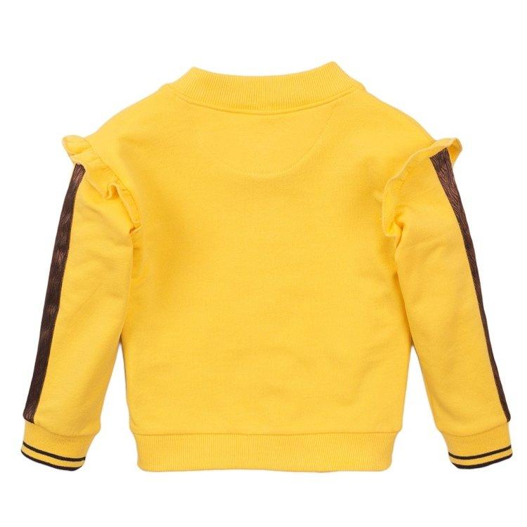Koko Noko meisjes vest geel   E38949-37
