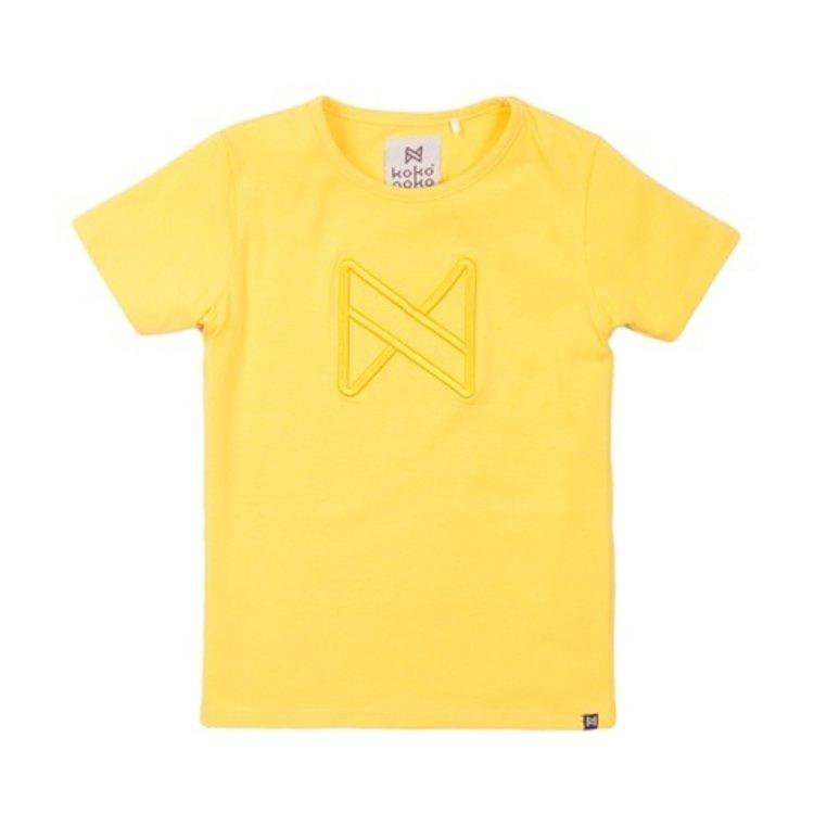 Koko Noko Mädchen T-shirt gelb | E38969-37