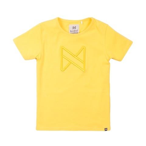 Koko Noko Koko Noko Meisjes T-shirt Geel Geel