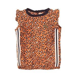 Koko Noko Mädchen Top orange Panther