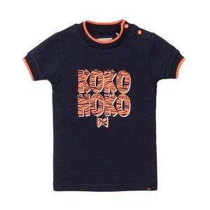 Koko Noko girls T-shirt navy