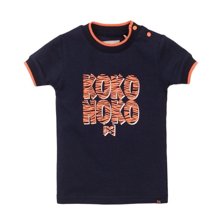 Koko Noko girls T-shirt navy | E38952-37