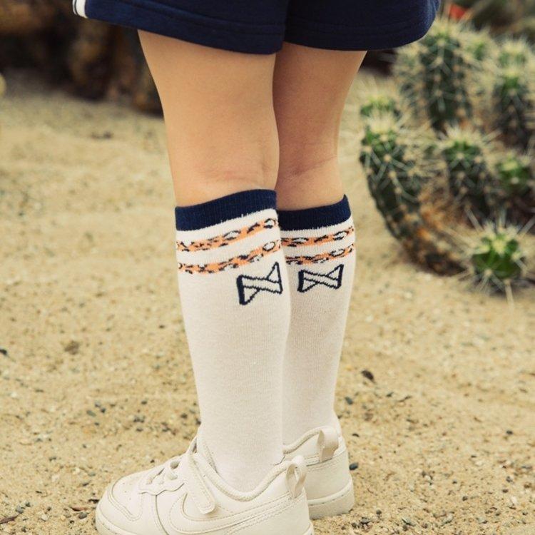 Koko Noko Mädchen Socken 2er-Pack navy und weiß | E38959-37