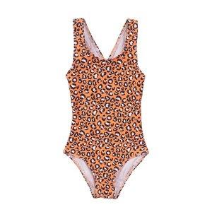 Koko Noko girls swimming costume orange