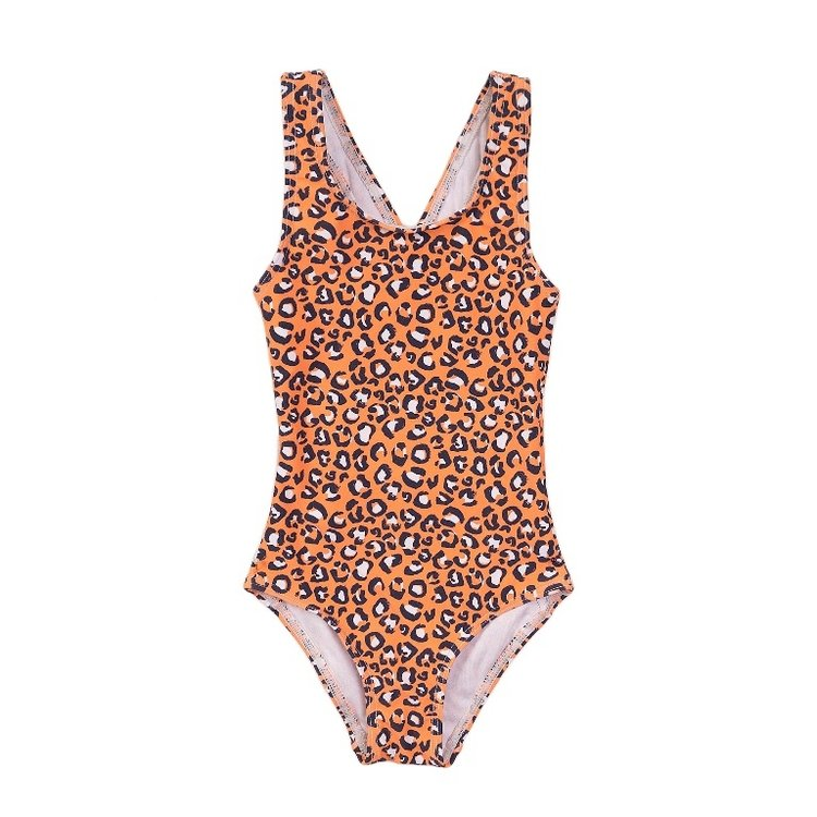 Koko Noko meisjes badpak oranje | E38960-37