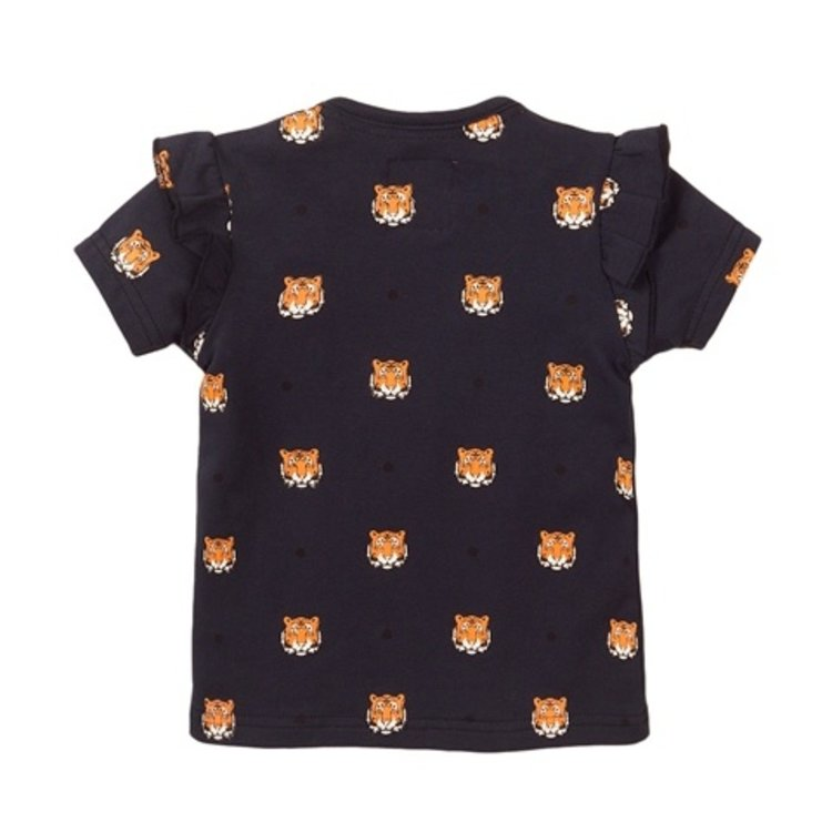 Koko Noko girls T-shirt navy tiger | E38963-37