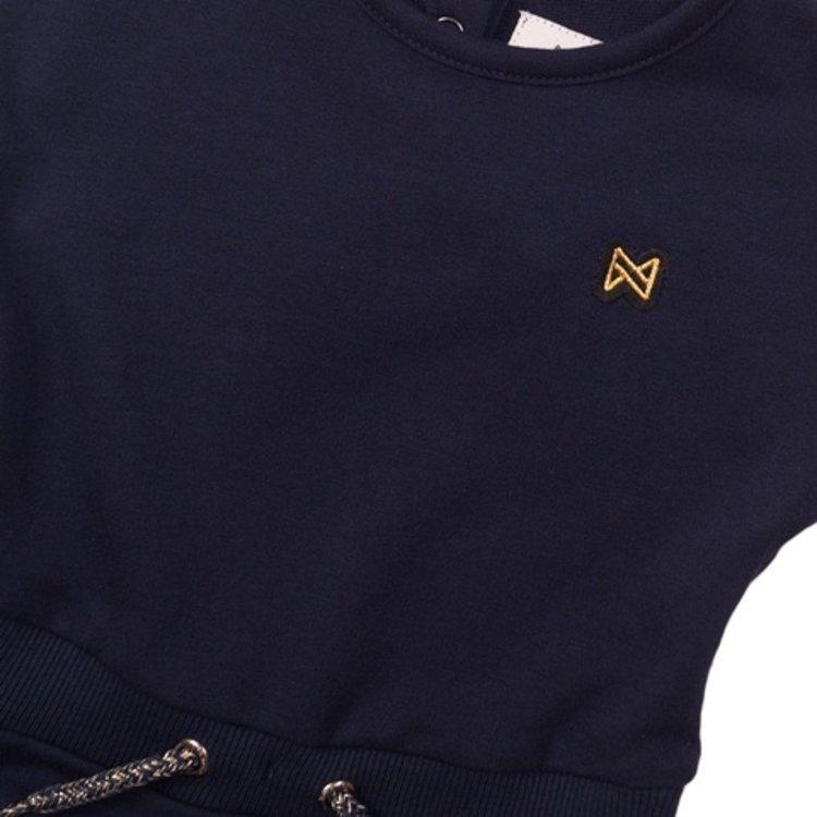 Koko Noko meisjes jurk navy | E38967-37