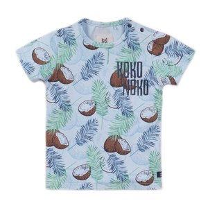 Koko Noko boys T-shirt light blue print