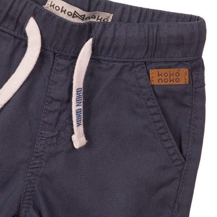 Koko Noko jongens jeans short faded blue | E38801-37
