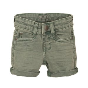 Koko Noko jongens jeans short licht groen