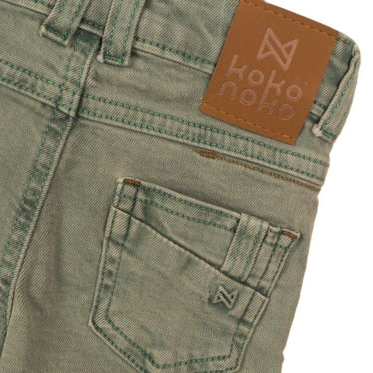 Koko Noko Jungen Jeans kurz hellgrün | E38807-37