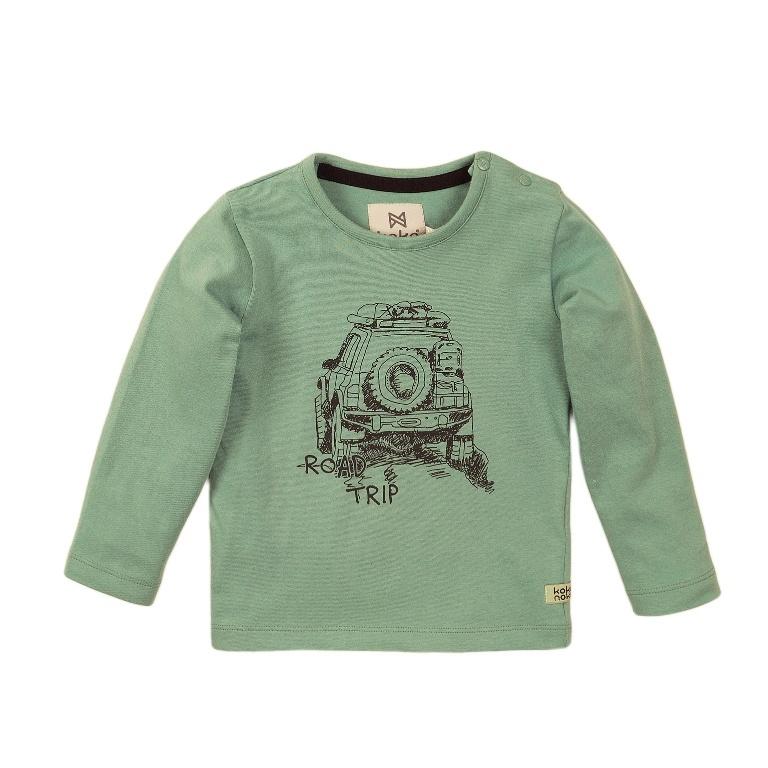 Koko Noko Koko Noko Jongens Shirt Licht  Groen