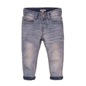 Koko Noko jongens jeans blauw met logo label